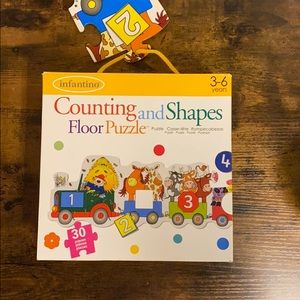 Infantino Counting & Shapes floor puzzle preschool